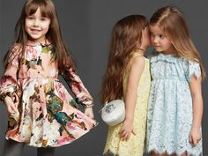 The Adorable Dolce and Gabanna Kids - Fall 2014