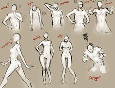 Body Language by moni158 on DeviantArt