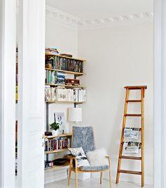 Reutilizar escaleras antiguas para decorar