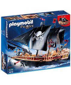 PLAYMOBIL ® 6678 BARCO DE BATALLA PIRATA