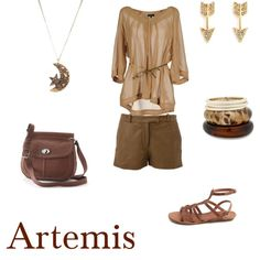 Artemis, Goddess of the Moon and the Hunt