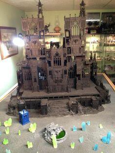 Terrain, Warhammer 40,000 - Gallery - DakkaDakka | Just a few skulls short of a throne.