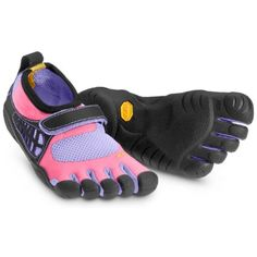 Vibram Fivefingers Kids' Kso Kid's Pink/Purple/Black *** Read more reviews of the product by visiting the link on the image. (This is an affiliate link) #Running
