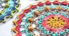 Spirit Mandala: free crochet pattern - http://www.lillabjorncrochet.com/2018/01/spirit-mandala-free-crochet-pattern.html