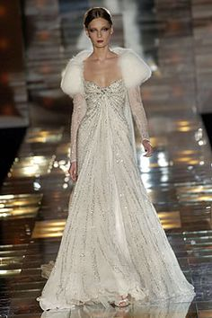 Elie Saab 2004. Definetely a wedding dress for a millionaire