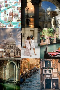 Venice moodboard by The slow pace