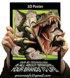 3D Posters...Too awesome!