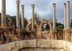 Apodyteria, Hadrianic Baths, Leptis Magna, Libya. | Flickr - Photo Sharing!