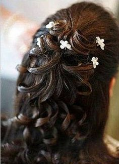 like the curls with a bit of flowers in them