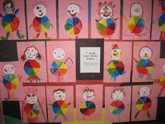 1st grade clowns