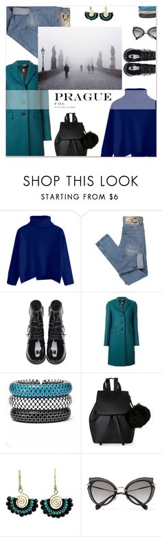 """La camisa Azul"" by tuomoon ❤ liked on Polyvore featuring Cheap Monday, Paul Smith, John Hardy, IMoshion, NOVICA, Miu Miu and National Geographic Home"