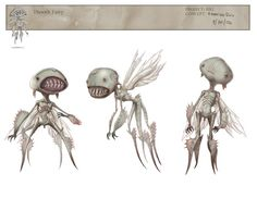 hellboy II ✤ || CHARACTER DESIGN REFERENCES |