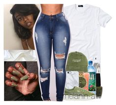 trying this again  by melanin-avii on Polyvore featuring polyvore, fashion, style, Polo Ralph Lauren, Puma, Uncommon, Nixon, philosophy, OPI and clothing