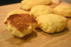 Coconut flour biscuits. Taste like cornbread! Gluten, dairy and grain free. So easy to make.