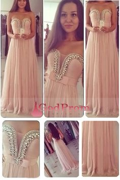 Special Occasion Dresses A Line Sweetheart Sleeveless Sweep/Brush Train Chiffon Zipper Up Back With Ruffles