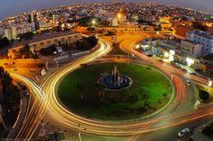 Tripoli , Libya : Oturduğumuz evden şehir manzarası