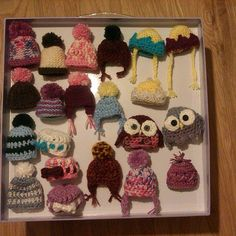 """@anloke """"Made a few hats, pleased so far. Will make same amount again, I am slow at knitting and crochet!"""""""