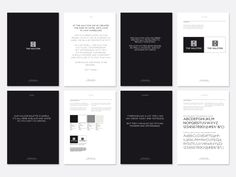 The Halcyon hotel brand guidelines - Mytton Williams