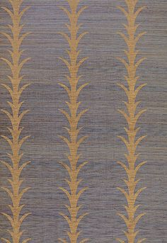 Acanthus Stripe Schumacher Wallcovering   5006054