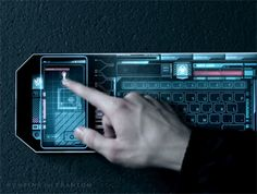 In the Atomic world, information can be transmitted from a phone to a computer just through touch.