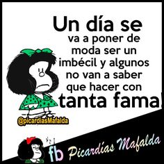 Funny Thoughts, Deep Thoughts, Mafalda Quotes, Spanish Quotes, Humor, Good Advice, Qoutes, Funny Memes, Karma