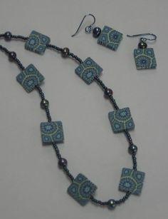 Priscilla Wentworth clay jewelry.