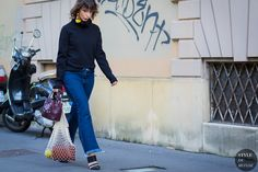 #New on #STYLEDUMONDE  http://www.styledumonde.com  with @irinalakicevic #IrinaLakicevic at #milan #fashionweek #mfw #celine #outfit #ootd #streetstyle #streetfashion #streetchic #streetsnaps #fashion #mode #style