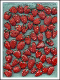Strawberries-rocks