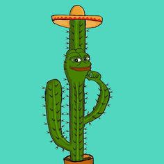 hey people I'M PEPE THE CACTUS FROG