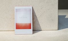 Fashion week S/S 2014 invitations: menswear collections | Paul Smith