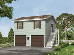 Garage Apartment Kits cute garage apartments |  apartment (20x20)tuff shed