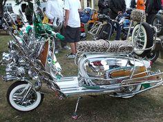 Vespa Vbb, Lambretta Scooter, Vespa Scooters, Custom Motorcycles, Small Motorcycles, Ride The High Country, Custom Vespa, Retro Scooter, Honda Ruckus