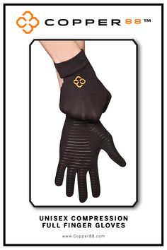 Available from Small to Large, these Compression Gloves are the only in the world to have 88% copper embedded in it's fabric. The compression supports your muscles and joints aiding in faster recovery time.Comfortably worn during exercise, rest and in the shower.Super-fast wicking keeps garments dry Antibacterial and anti-odour properties will keep you feeling and smelling fresh. Copper88™ fabric attributes are inherent in all our garments and will last for as long as you own our products.