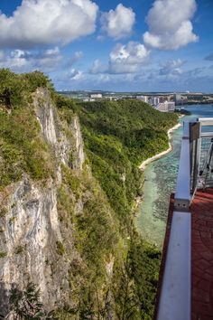 Two Lovers Point, Guam - Global Girl Travels Famous Legends, Island Girl, Guam, Health And Fitness Tips, Pacific Ocean, Capital City, Cliff, The Good Place, United States