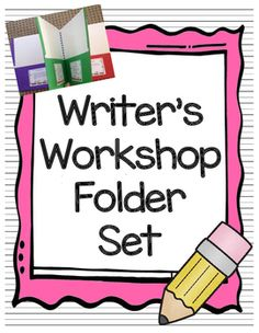 Here it is!  The way to make your writer's workshop a success!  These Writer's Workshop Folders not only help teach students about the writing process, but they allow them to get excited and take pride in their writing as an author!  They are perfect for grades 1-6 (can be used 8-12) and I've even had kindergarten teachers adapt them for beginning writers.