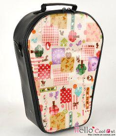 Carrier bag -travel case Forest for Pullip, Blythe - Cool Cat