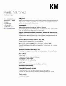 Karla Martinez Resume Ideas Tips Cv Format