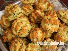 Wild Garlic, Hungarian Recipes, Scones, Cauliflower, Vegetables, Breads, Foods, Food Food, Food Items