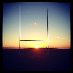 Rugby sunrise