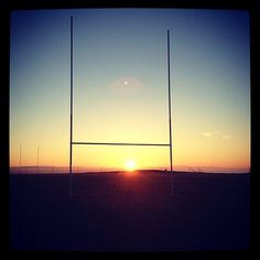 Rugby sunrise