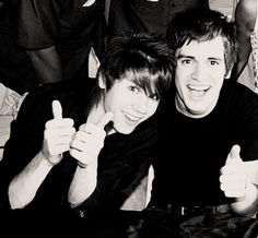 ryden panic! at the disco brendon urie and ryan ross