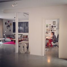 polished concrete - love the polished concrete floors in my apartment + will def. want them whenever I buy a home!