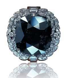 The 67.50 ct Black Orlov diamond is probably the most famous natural color black diamond.
