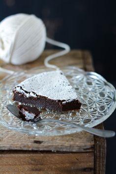 Chic, chic, chocolat...: Fondant au caramel au beurre salé et chocolat