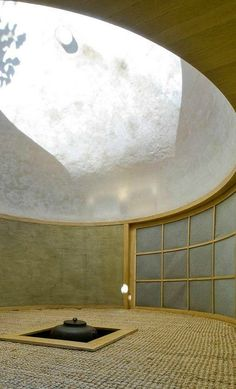Modern teahouse built in Prague, Czech Republic by David Maštálka of A1 Architects and sculptor Vojtech Bilisic.