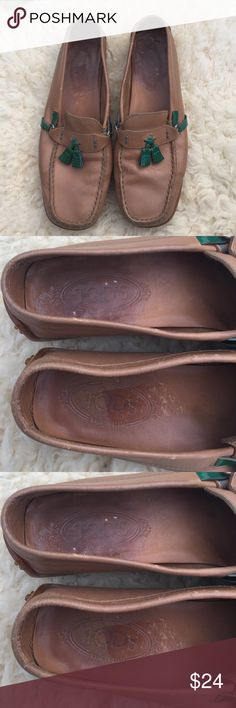 Tods Loafers (imitation) Real leather and great quality imitation Tods Loafers. Good pre worn condition. Tod's Shoes Flats & Loafers