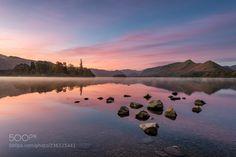 Mirrors - Derwentwater Lake District UK. by DanielKay