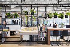 53 Unique Furniture Design and Construction for the Interior Corporate Office Design, Modern Office Design, Office Furniture Design, Corporate Interiors, Workspace Design, Office Designs, Unique Furniture, Australian Interior Design, Interior Design Awards