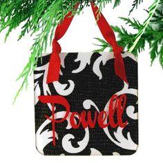 CoCo Designer Acrylic Christmas Ornament