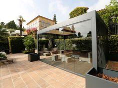 auvent de terrasse en aluminium pour votre espace extérieur ... - Prix Store De Terrasse